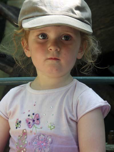 Fiona at De Efteling