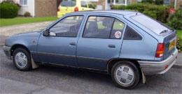 Vauxhall Astra, circa 1989