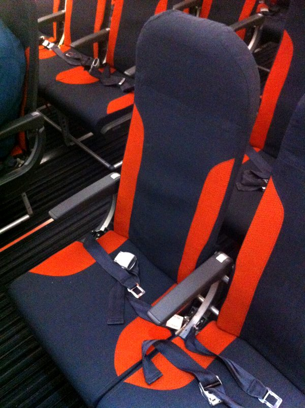 New eastjet seats