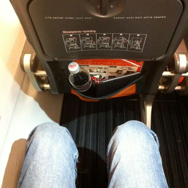 Easyjet new seats legroom