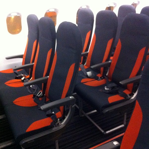 New Easyjet seats