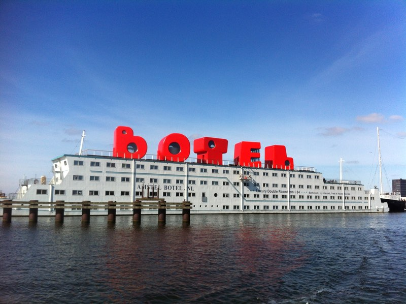 Botel on the IJ