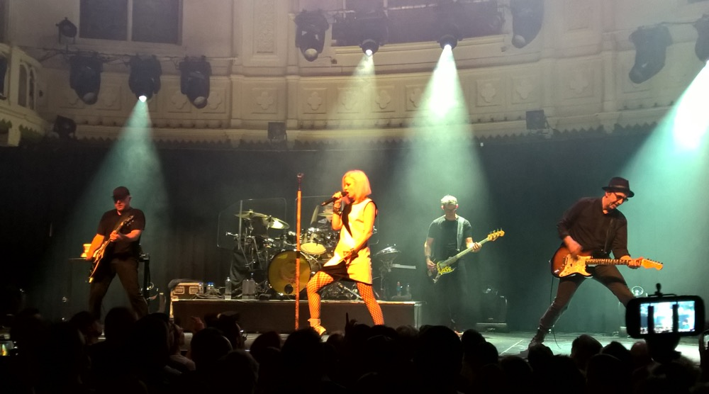 Garbage at Paradiso