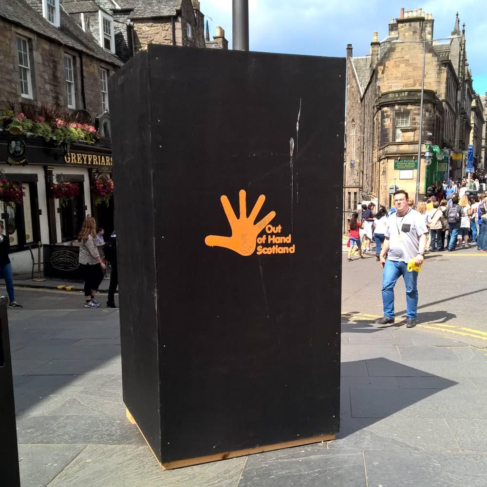 Edinburgh plakzuil