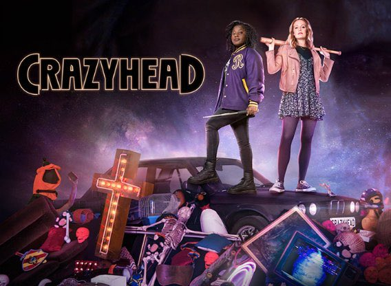 Poster for Crazyhead TV show