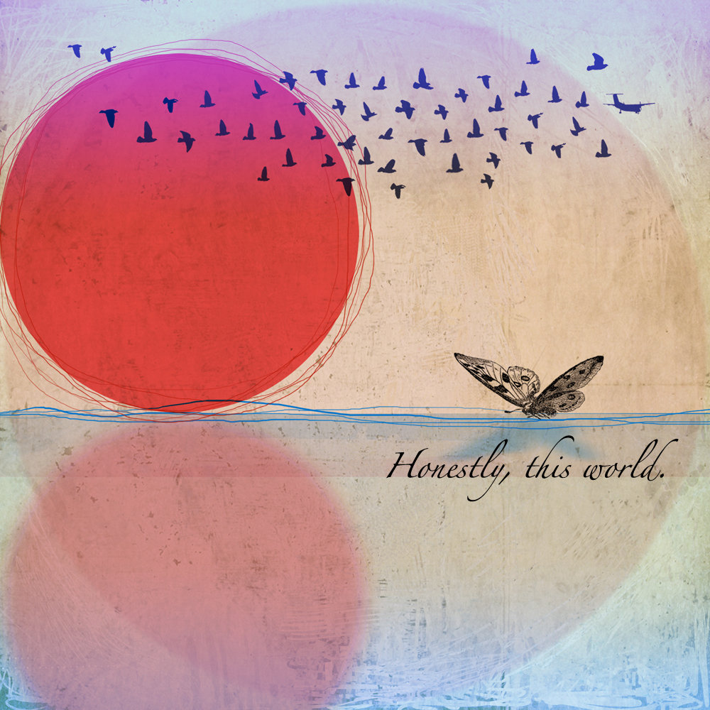 Album cover for Honestly, This World by The Moth & The Mirror