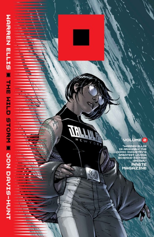 Book cover of the Wild Storm volume 2